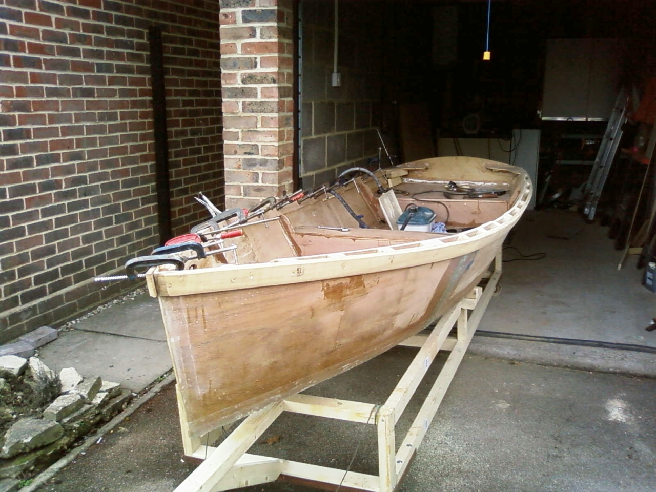The first Ella skiff is looking good – intheboatshed.net