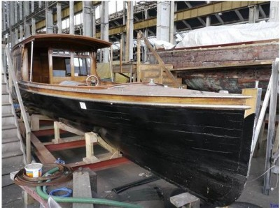 turk's, boatyard, auction, film props, boats, wooden boats, old boats, steam launch