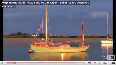 britain, cliff foot, coastwise cruising, dylan winter, fb cooke, harwich, keep turning left, oakley quay, walton backwaters, walton creek