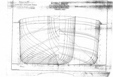 Spider T, Humber keel, lines