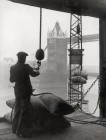 port of london, london, archive, pla, museum of london, london, museum, photographs, police, lifejacket, dock, diver, crane, warehouse, docker