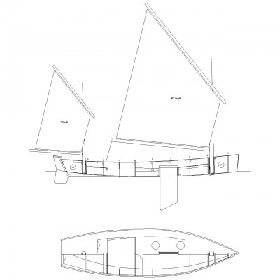 Light Trow, plans, plywood boat, Gavin Atkin, boat plan