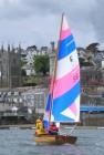 fowey river dinghy, fowey, clinker, boatbuilding, sailing dinghy, cornwall, marcus lewis, wooden boatbuilder, cornwall