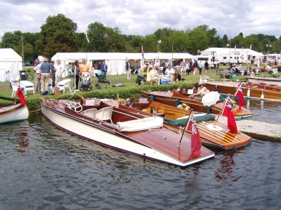 Photos of the Thames Traditional Boat Rally, Henley 2010
