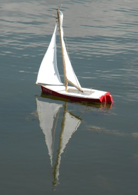Nereid model of Gavin Atkin Ella skiff