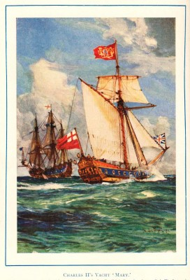 King Charles II's yacht Mary