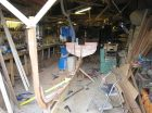 Fowey River dinghy in Marcus Lewis' workshop
