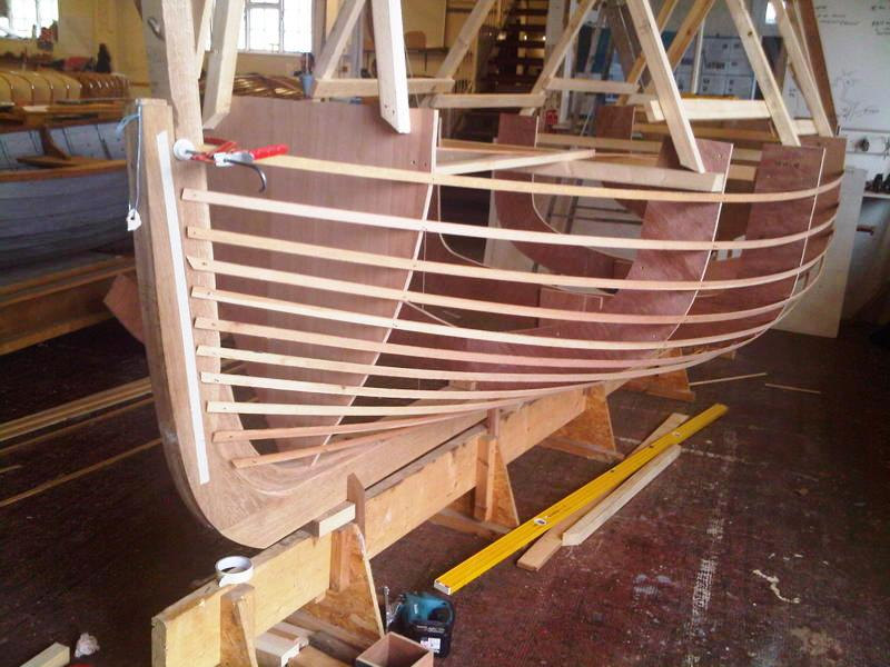 Ian Baird S Replica Of A Dorset Crab And Lobster Boat In