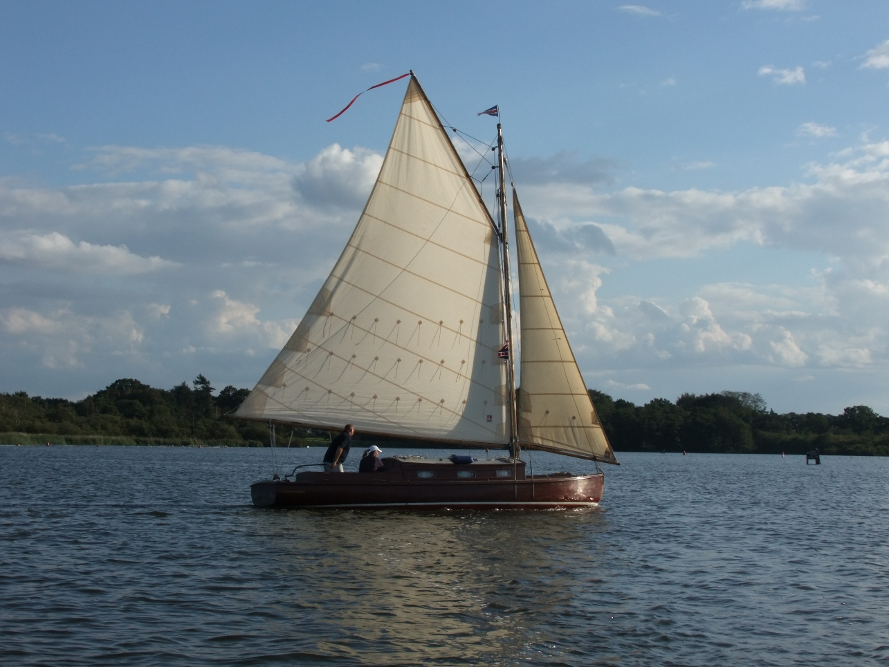 Old fashioned and classic sailing boats of the Norfolk Broads, autumn 2010 | intheboatshed.net