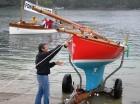 Troy Class yacht Ruby restoration