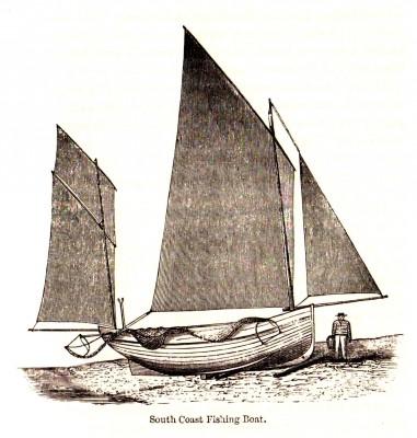 South Coast lugger