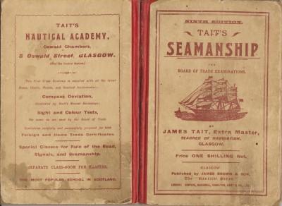 Tait's Seamanship 1913 Cover
