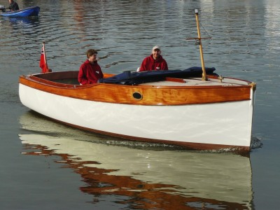 Bristol 22 motor launch built by Win Cnoops at Star Yachts