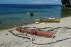 Phillipine Islands outrigger canoes photographed by Matt Atkin