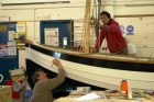 Tracey Marler - Witch of Weymouth -final touches and rigging BBA