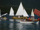 Yellow boat is a John Welsford Whaler, built and sailed by Peter Murton.