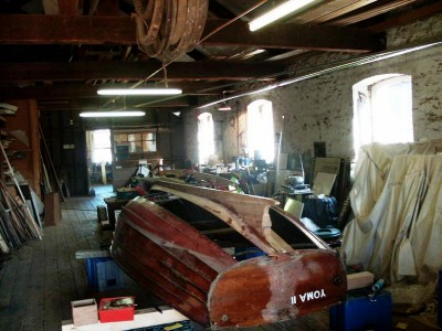Yoma II Burnham on Sea Motor Boat Company clinker motor launch restoration