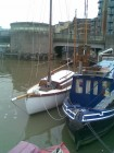 Canoe yawl in Bristol Docks