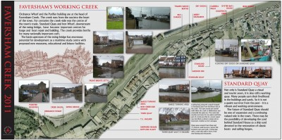 Faversham Creek Trust poster