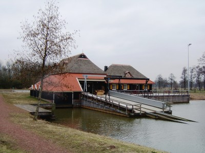 Boatyard at Enter, Netherlands