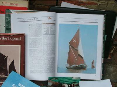 Sailing barge Ena for sale on eBay