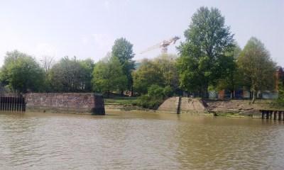 Old dry docks at Bremerhaven