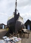 Southwold fishing boat restoration photographed by Joe Farrow