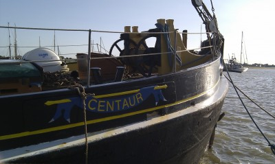 Brightlingsea sailing barge Centaur