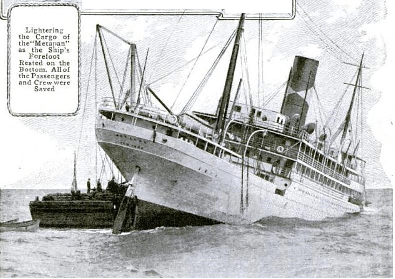 SS Metapan sunk by the SS Iowan