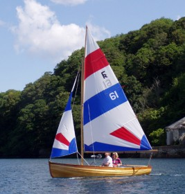Marcus Lewis Fowey River dinghy