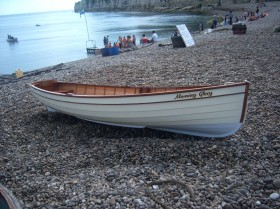 Adam Newton 12ft rowing boat Morning Glory