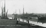 Faversham Creek, showing shipyards 1940