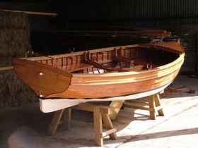 Stirling & Son Sailing Dinghy Hull (1)