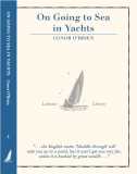 On Going to Sea in Yachts - Conor O'Brien - Christmas gifts from Lodestar Books
