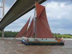 Spider T returns to the Humber following the Arbroath Sea Fest