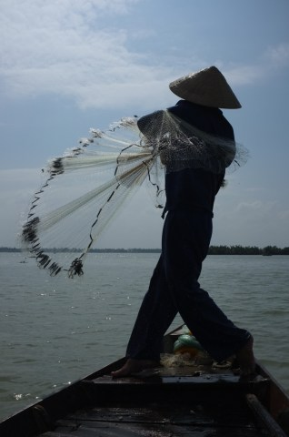 Vietnam fishing boats