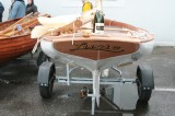 Michael Tyler's Catboat 'Lucie' designed by Mike Broome. Photo by Emma Brice