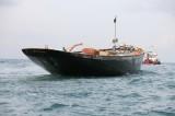 Britannia replica returns to Cowes - Photo by Hamo Thornycroft www.yacht-photos.co.uk