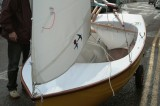 Shane Butcher's composite dinghy 'Dreamer' 3 Photo - Emma Brice