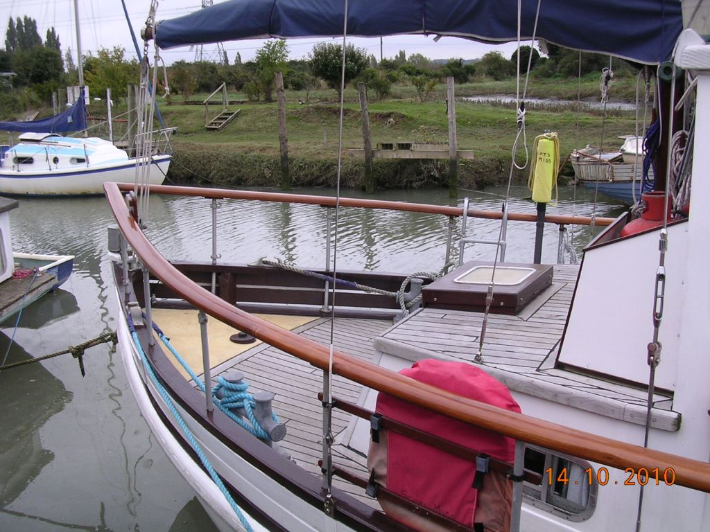 Lovely weatherhead built fishing boat conversion scots for How much does a fishing boat cost