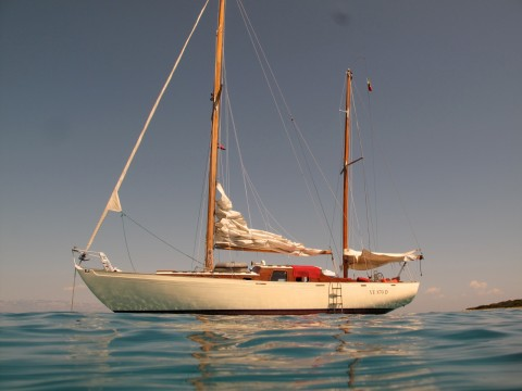 Buchanan designed ketch  Brancaleon for sale
