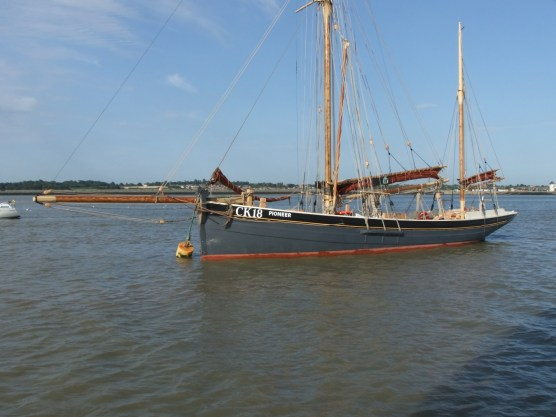 Oare Creek to the Colne and back Pioneer 2