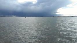 Rainshower over Thanet