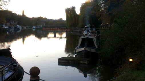 Boats on the Medway at Allington 17