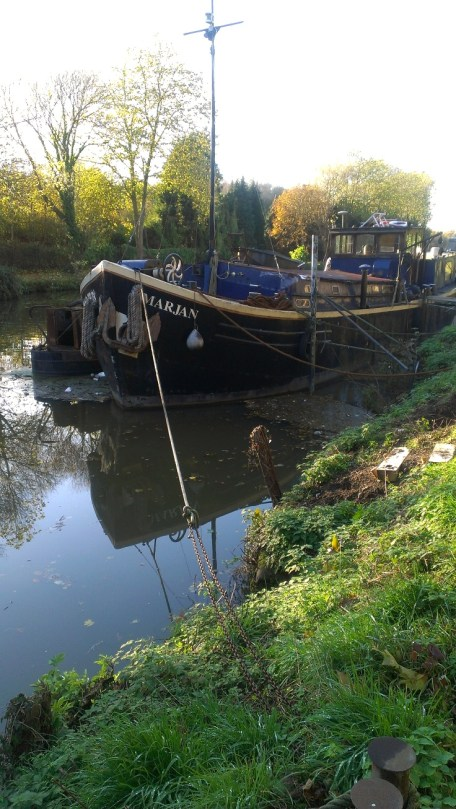 Boats on the Medway at Allington 5