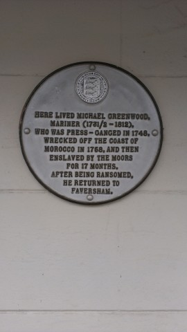 Michael Greenwood plaque