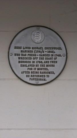 Michael Greenwood plaque