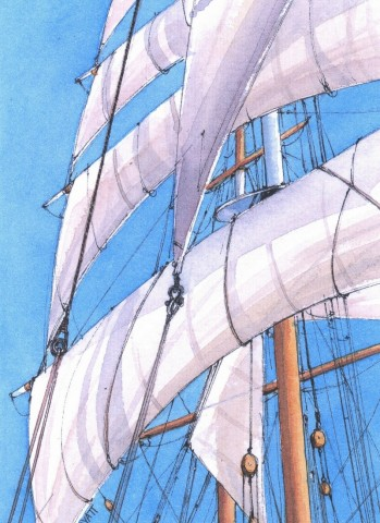 Claudia Myatt sails