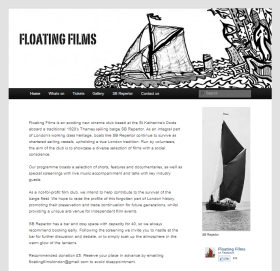 Floating Films website