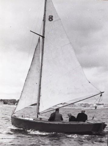 Ronan Lee 'Seagull' sailing boat 1